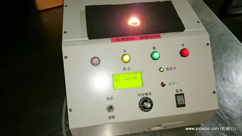 眼鏡伯芒果甜度偵測儀,日本原裝進口抽測用