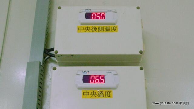 眼鏡伯採用先進儀器檢測芒果甜度,全電腦化監控